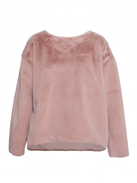 Pink Fluffy Sweatshirt