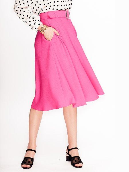 Pink Viscose Skirt