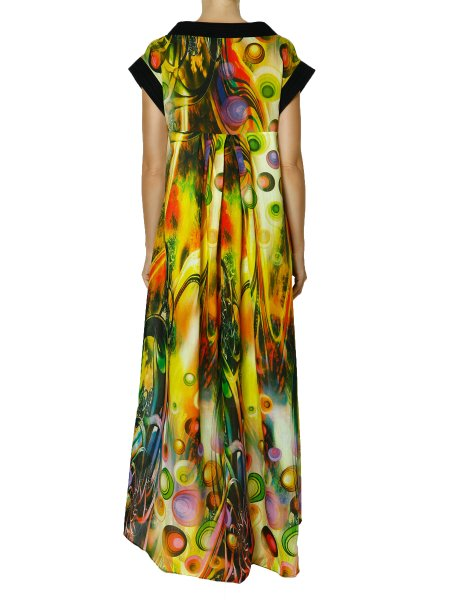 Printed Cotton Maxi Dress