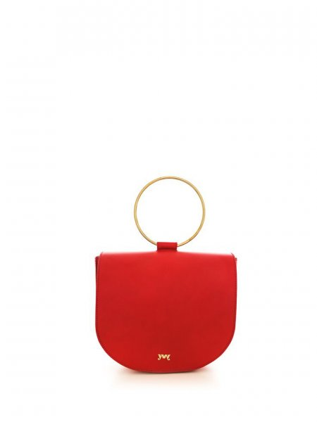 Red Florence Nappa Handbag