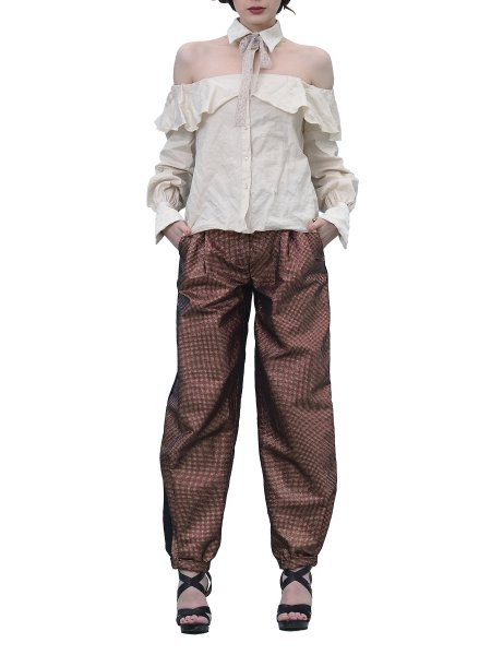 Relaxed Fit Trousers With Cuffs