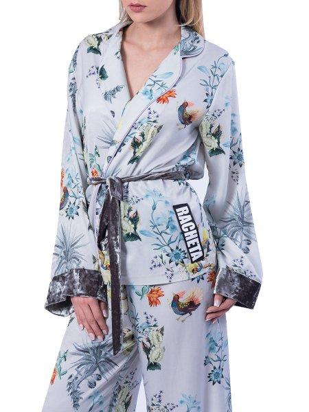 Satin Pyjamas Style Suit