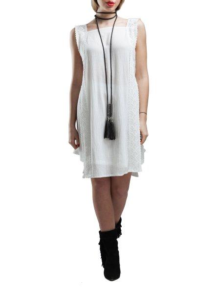 Sleeveless Top And Mini Skirt Set