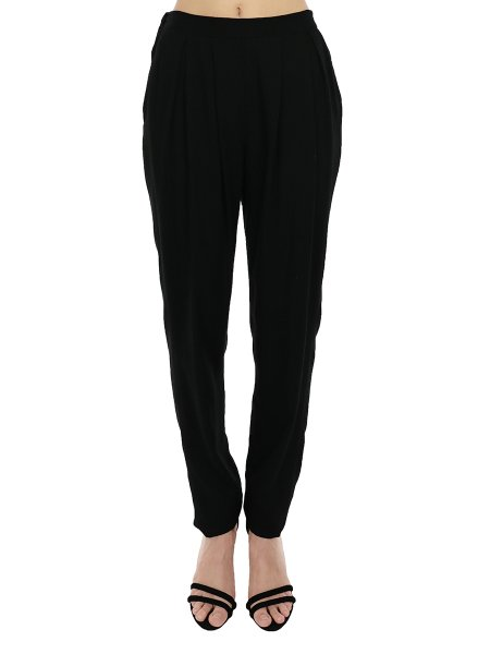 Soft Cotton Relaxed Trousers