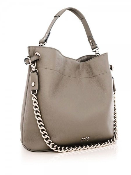 Soft Grey Cecile Bag