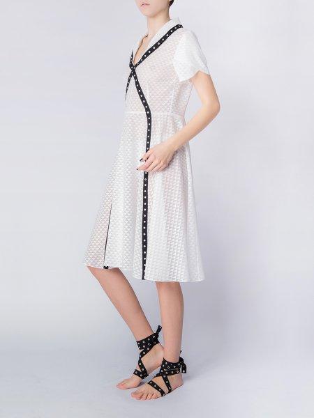 White X-Dress