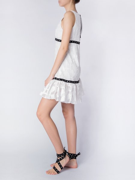 Wrap Lace Dress
