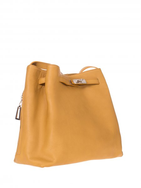 Yellow Handcrafted Bag